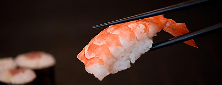 Ess-Stäbchen für Sushi