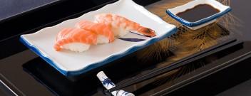 Sushi-Geschirr