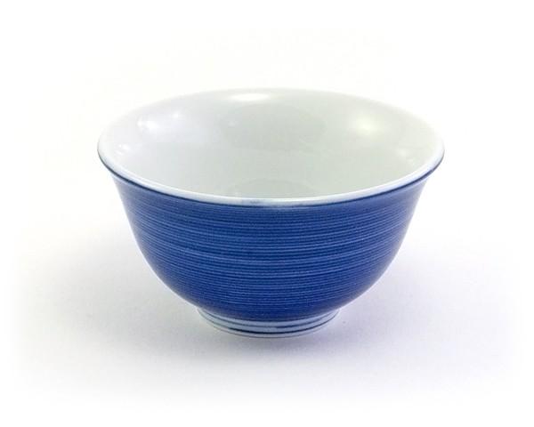 Japanische Teetasse blau