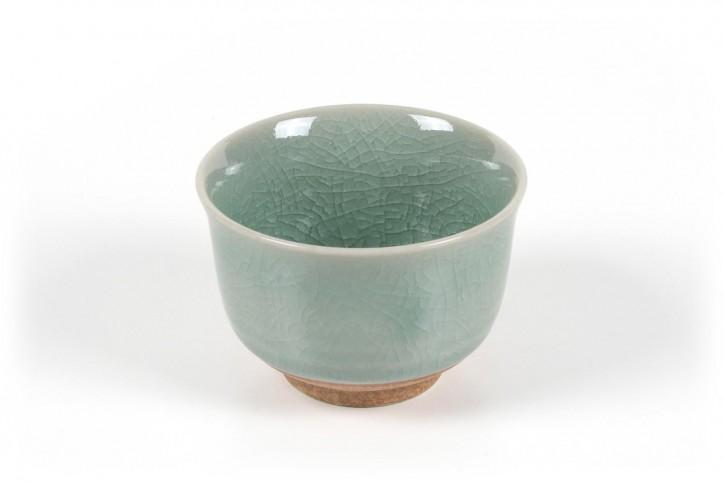 Japanische Teetasse hellgrün