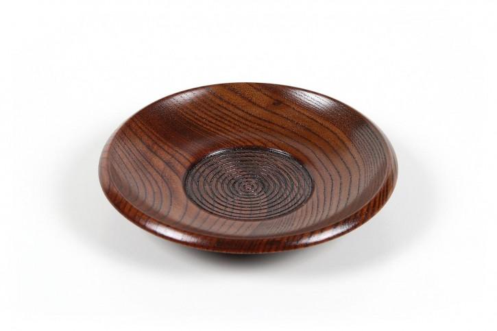 Untertasse aus Holz
