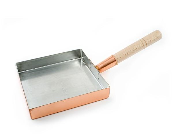 Kupferne Tamago-Pfanne für Profis