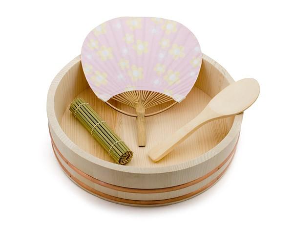 Reisschüssel Sushi-Oke Set