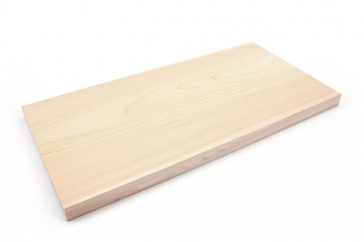 Schneidebrett aus Hinoki-Holz, 30 mm dick, extra groß