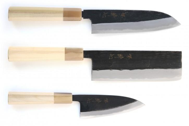 Messer-Set Togashi Black
