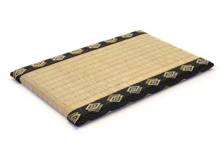 Untersetzer Tatami schwarz groß