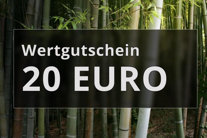 Wertgutschein 20 Euro