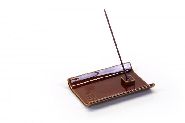 Incense-Halter braun