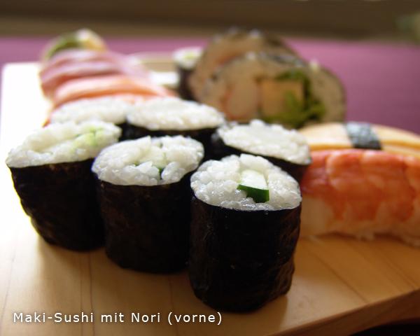 Makisu Sushi Bambusmatte Sushi Selber Machen