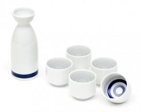 Sake Set »Take«mit fünf Tassen
