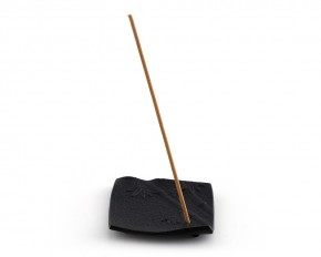 Incense-Halter take, schwarz