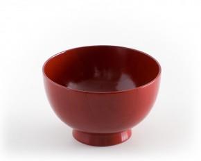 japanische Suppenschale, rot