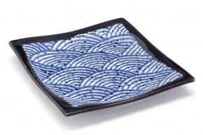 Japanischer Teller »Nami« quadratisch