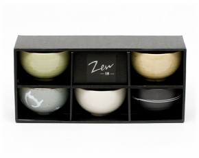 5-teilig japanisches Schalen-Set