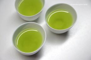 Japanisches Tee-Set weiß, 6 teilig