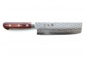 Nakiri Damastmesser »Suisin« 170 mm