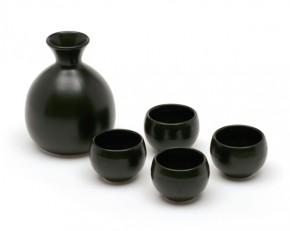 Sake Set schwarz