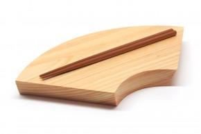 Sushi-Brett »Sensu« aus Hinoki-Holz